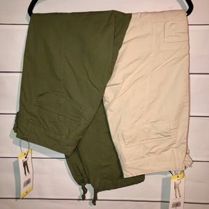 Pants - 2 pairs of size 6 cargo pants